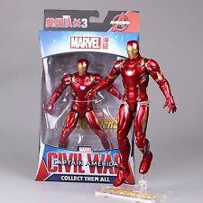 "New ZD Marvel Iron Man Avengers Legends Comic Heroes 7"" Action Figure Kids Toys"