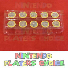 10 Batteries for Nintendo 64 N64 NES SNES with Tabs CR2032 + Install Instruction