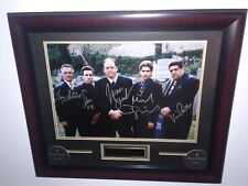 """The Sopranos Signed/Autographed Matted & Framed """"Cemetery Scene"""" Photo.Psa Loa"""