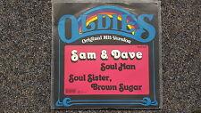 Sam & Dave - Soul man/ Soul sister, brown sugar 7'' Single