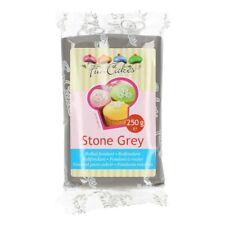 Fun Cakes Fondant verschiedene Farben wählbar Stone Grey