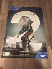 Rare-  Destiny 2-Gigantic 48X33 Promo Poster Xbox ,ps4