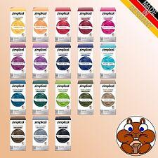 simplicol Textilfarbe intensiv verschiedene Farbtöne Färben / Batiken DIY