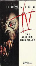 Howling IV (VHS) 1988 Horror!
