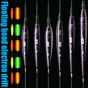 Smart Fishing Float LED Light Luminous Automatic Alarm Night Electronic Fishing