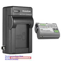 Kastar Battery Wall Charger for Genuine Nikon EN-EL15a OEM Nikon MH-25 MH-25a