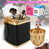 Mini Electric Washing Machine Dollhouse Toy Useful Wash Makeup Brush Tool 50%OFF