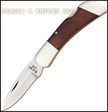 "BEAR & SON KNIFE - MEDIUM LOCKBACK #261R- 3 1/2"" CLOSED LENGTH - MADE IN THE USA"