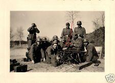 10185/ Originalfoto 7x10cm, Soldaten bei SMG-Ausbildung