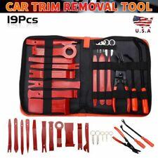 19pcs Trim Removal Tools Car Auto Dash Panel Radio Vedio Installation Kit