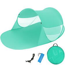 Pop Up Strandmuschel Wurfzelt Sonnenschutz Windschutz Zelt mit UV Schutz neu