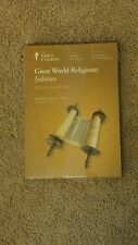 Great World Religions : Judaism (2003, CD /Book) NEW
