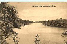 A Panoramic View of Awosting Lake, Minnewaska Ny 1912