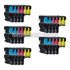 50 PK New LC61 Ink Cartridge for Brother Printer DCP-585CW MFC-J630W LC61 LC-61