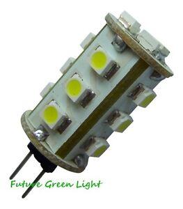 G4 15 SMD LED 12V DC 1.5W 90LM WARM WHITE BULB ~10W