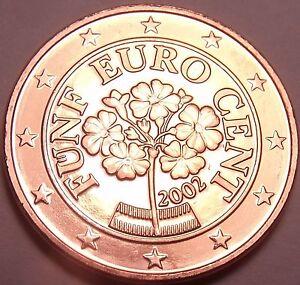 Gem Unc 2002 Austria 5 Euro Cents~Alpine Primrose Flower~Free Shipping