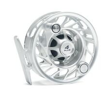 Hatch 4 Plus Finatic Reel with Case NEW  ~ Mid Arbor ~ Clear / Black Closeout