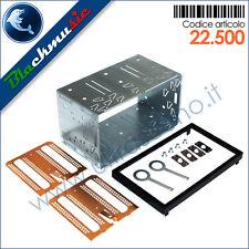 Kit montaggio autoradio 2DIN universale per mascherine 2DIN e ISO-2DIN