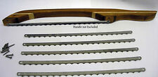 """Bow Bread Knife Blades 10 pack with 20 screws - 10 5/8"""" Long Stainless Steel"""