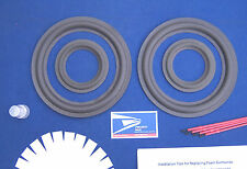 Infinity Reference Three Speaker Foam Surround Repair Kit / Woofer Refoam Kit