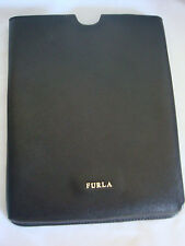 WOMENS AUTH FURLA IPAD2 SLEEVE CASE STORAGE NEW BLACK