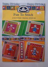 § DMC fascicule grilles point de croix P5054 FUN TO STITCH