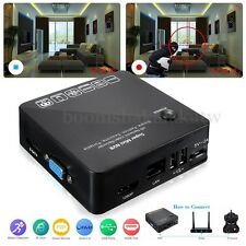 8CH NVR Network IP Camera Video Recorder 1080P HD E-SATA P2P HDMI VGA LAN HDD