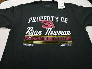 NASCAR Ryan Newman Richard Childress  RCR  Racing  T-Shirt  Large  NEW