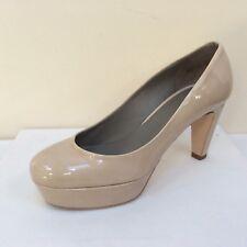 K&S Gil nude patent platform court shoes, UK 6/EU 39, RRP £159.00,  BNWB