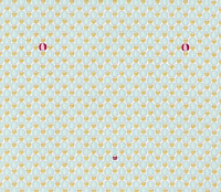 Count on Me Hot-Air Balloons Aqua Stof Quilting 100% cotton fabric by the yard