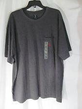 NWT Men's U.S. Polo Assn. Charcoal Gray short Sleeve T-Shirt Size 2XL