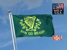 ERIN GO BRAGH Irish IRELAND FOREVER In/outdoor Super-Poly FLAG BANNER*USA MADE