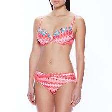 Coco Reef Divine Rio Diamond Power Underwire Bikini Two Pieces Coral Size Small