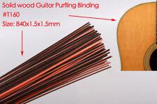 25pcs Guitar Strip Purfling Binding Guitar Body Parts Wood Inlay 840x1.5x1.5mm