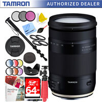 Tamron 18-400mm f/3.5-6.3 Di II VC HLD Zoom Lens for Canon Mount Bundle