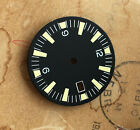 Yellow SM /date Seamaster 300 Dial for DG 2813 Movement 31.15mm