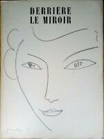 Derrière le Miroir n. 46, Henri Matisse, 1952, Maeght editeur, INTROVABILE