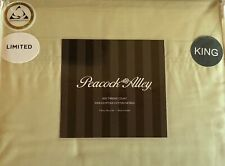 Peacock Alley 500TC 100% Egyptian Cotton Sateen Sheet Set - King - Sage Green