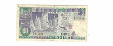 Z/1 114420 Singapore S$1 3rd Series Ship replacement prefix, nice   !!!?