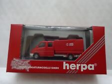 H0 1/87 HERPA 044745 - MERCEDES BENZ SPRINTER FIRE ENGINE TRUCK - BOXED