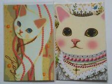 Jetoy Choo Choo Cat Postcards Diamonds Pearls Penpals Kitty Kitten Kawaii