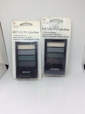 (2) Revlon ColorStay 12 Hour Eye Shadow Quad STEEL IMPRESSIONS #341 New/Sealed