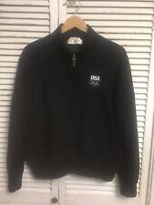 Fairway & Greene Italian Merino Wool 1/2 Zip Pullover Sweater USA BMW Men's L