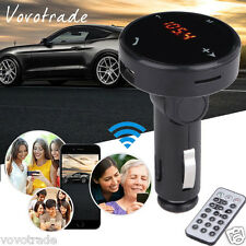 Bluetooth Wireless Car Kit Fm Transmitter Mp3 Player Radio Sd Usb Charger Remote