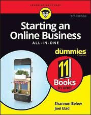 Starting an Online Business All-in-One for Dummies by Shannon Belew and Joel...