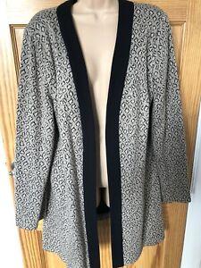 Roman Originals Long Cardi/jacket Size 22