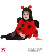 4-14 anni Collant COCCINELLA INSETTO LADYBUG-Ragazze Bambini Accessorio Costume Taglie