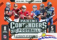FREE SHIPPING 2019 Panini Contenders Football Factory Sealed Blaster Box