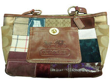 Coach Multi-Colored Patchwork Limited Edition Tote 11358