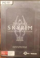 THE ELDER SCROLLS V SKYRIM LEGENDARY EDITION PC GAME DVDROM DVD-ROM EPIC FANTASY